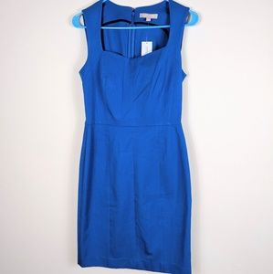 BANANA REPUBLIC BLUE MIDI DRESS